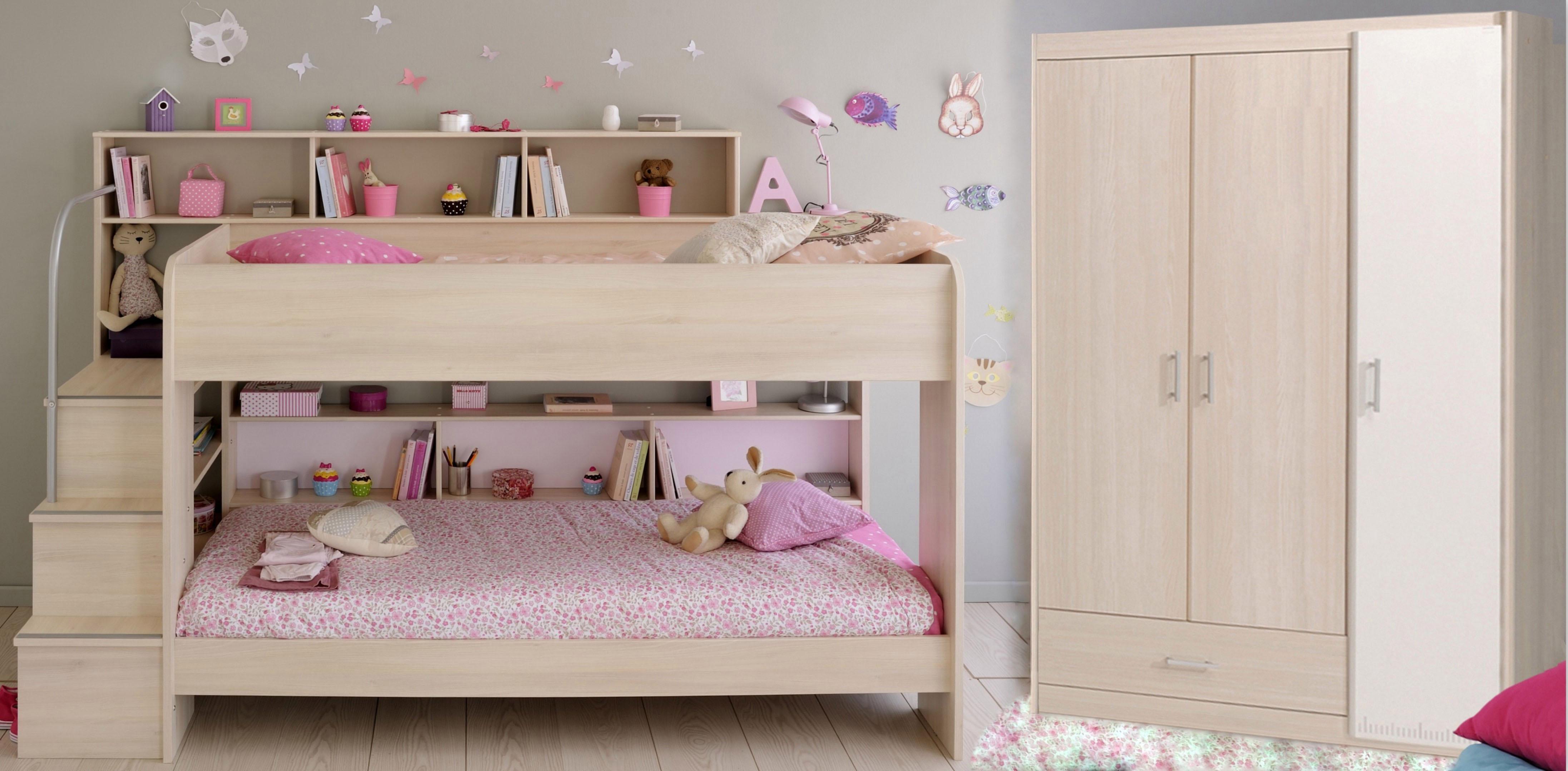 Parisot Kinderzimmer-Set »Bibop« (2-tlg.) | Kinderzimmer > Komplett-Kinderzimmer | Braun | PARISOT