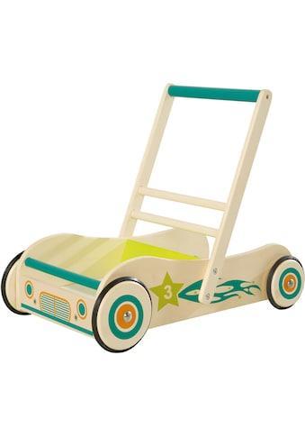 roba® Lauflernwagen, aus Holz mit Bremse kaufen