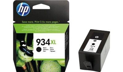 HP Tintenpatrone »hp 934XL, original, C2P23AE, SCHWARZ« kaufen