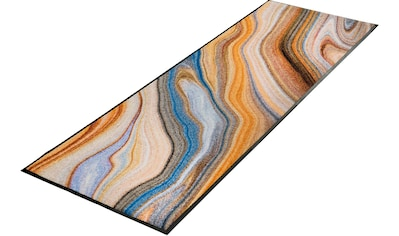 wash+dry by Kleen-Tex Läufer »Granito«, rechteckig, 7 mm Höhe, waschbar kaufen