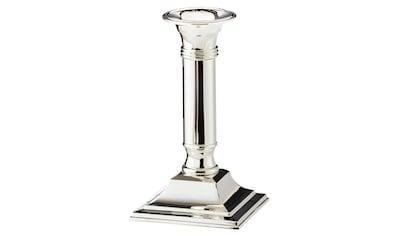 EDZARD Kerzenleuchter »Lincoln«, Kerzenständer mit Silber-Optik, Kerzenhalter für... kaufen
