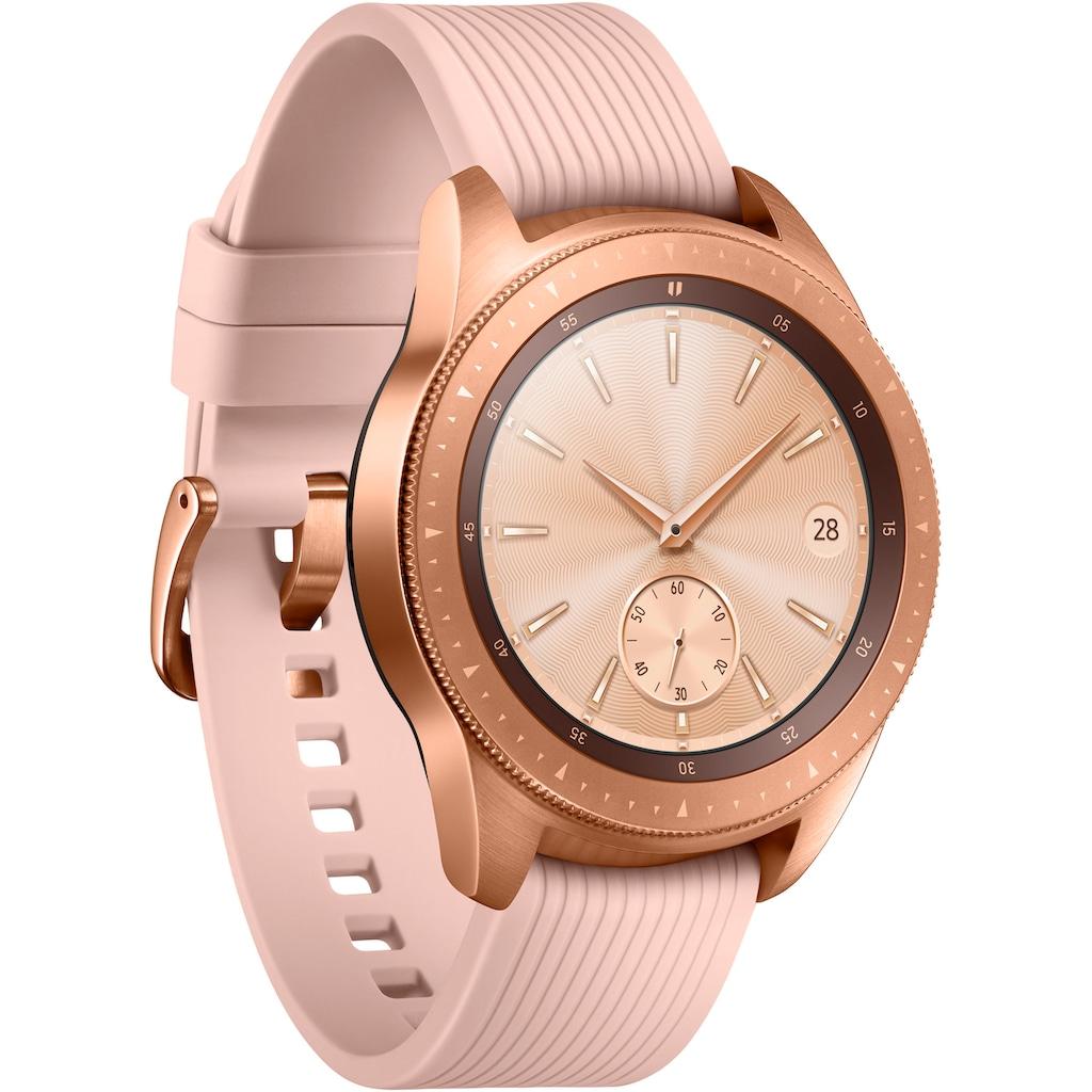 """Samsung Smartwatch »Galaxy Watch - LTE - 42mm« (3,05 cm/1,2 """", Tizen OS"""