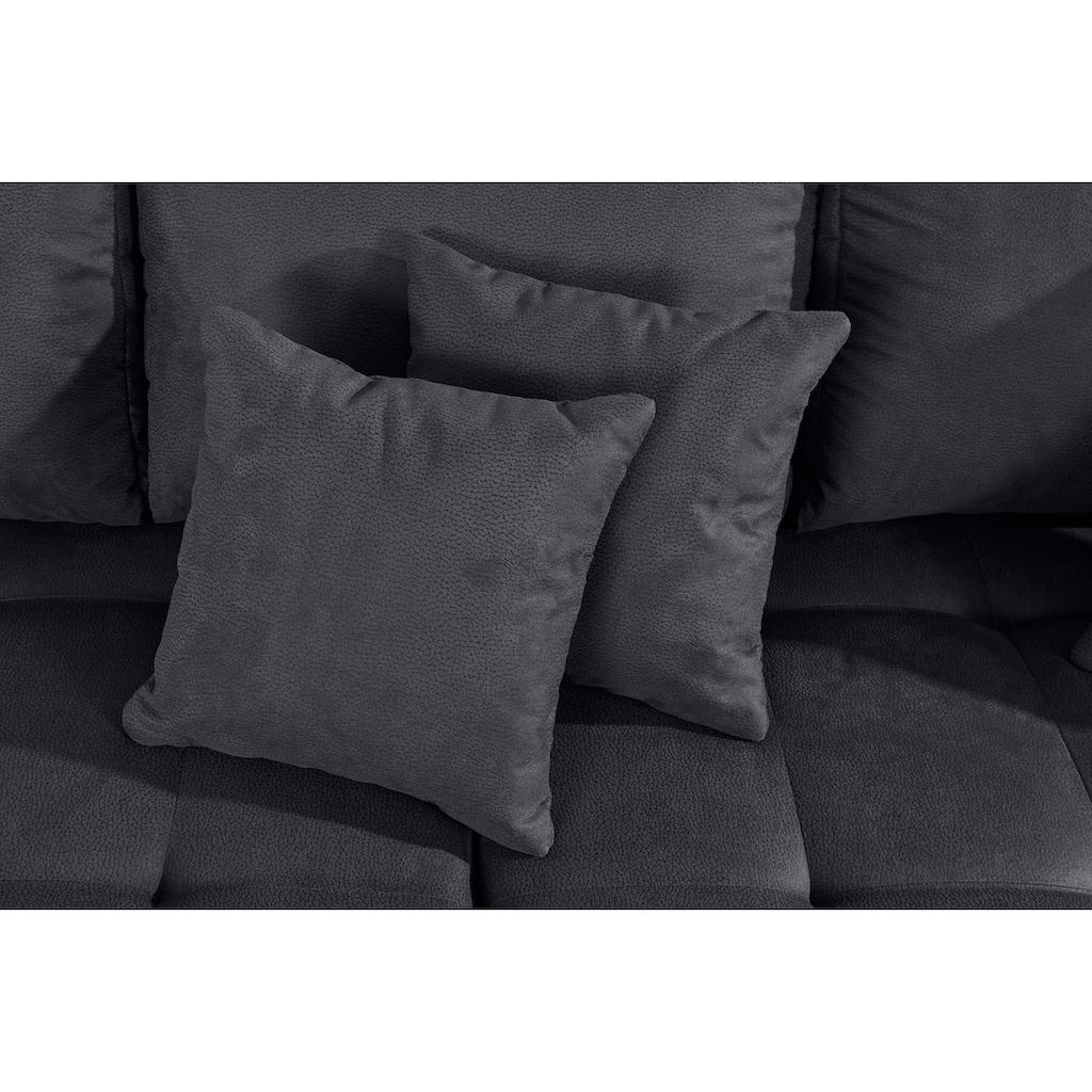 andas Ecksofa »Blackburn Luxus«, mit besonders hochwertiger Polsterung für bis zu 140 kg Belastbarkeit
