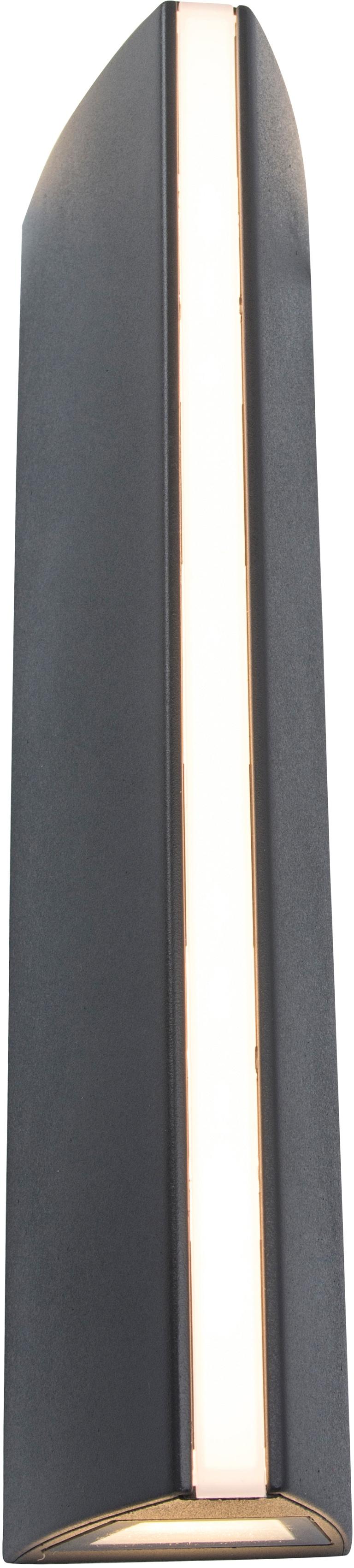 LUTEC LED Außen-Wandleuchte LEO 5192701335, LED-Modul, 1 St., Warmweiß