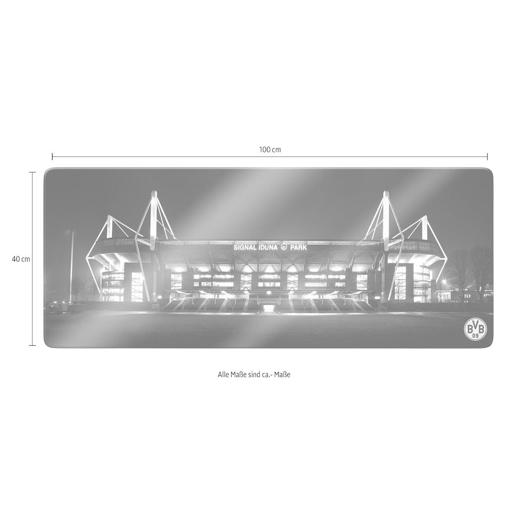 Wall-Art Glasbild »BVB Signal Iduna Park«, 100/40 cm