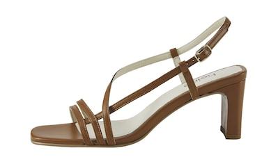 Sandalette mit filligranen Riemchen kaufen