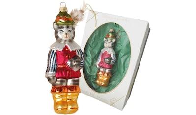 """Krebs Glas Lauscha Christbaumschmuck """"Der gestiefelte Kater"""" (1 - teilig) kaufen"""