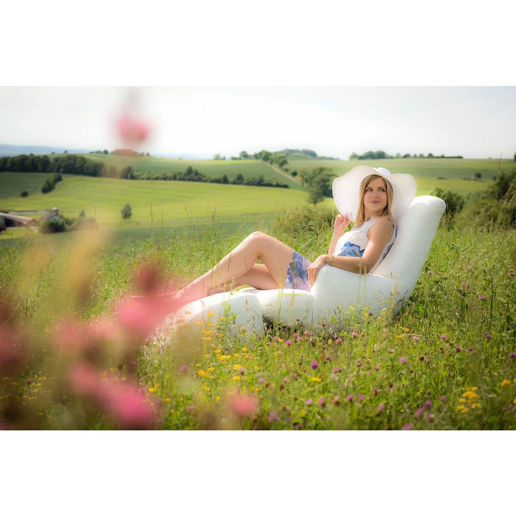 Max Winzer® Loungesessel »Borano«, mit Dekorsteppung