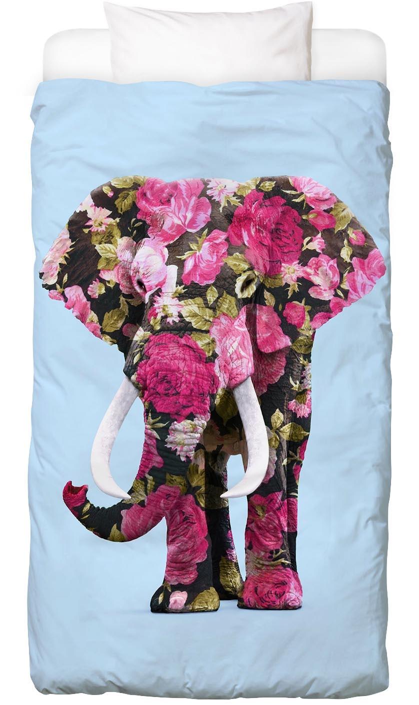 Bettwäsche Floral Elephant Juniqe