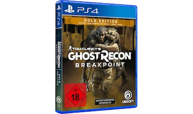 Tom Clancy's Ghost Recon Breakpoint Gold Edition PlayStation 4 kaufen