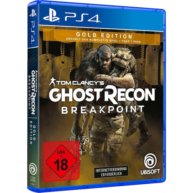 Tom Clancy's Ghost Recon Breakpoint Gold Edition PlayStation 4