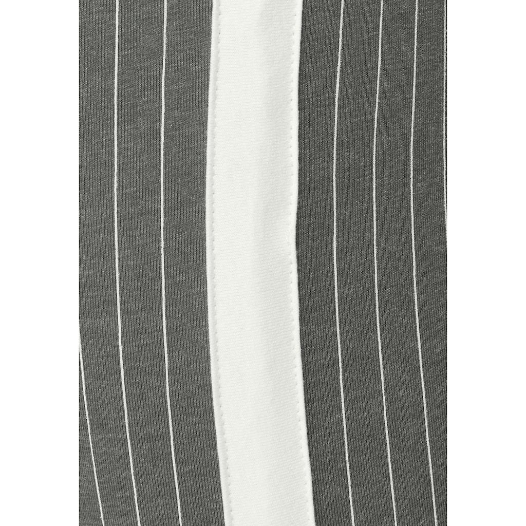AJC Leggings, (Packung, 2 tlg.), Doppelpackung, gemustert & uni schwarz
