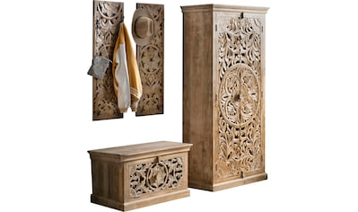 SIT Garderoben-Set »Lakadee«, (4 St.), aus Mango Holz kaufen