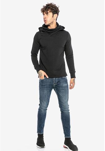 RedBridge Kapuzensweatshirt »Pueblo«, mit hohem Schalkragen kaufen