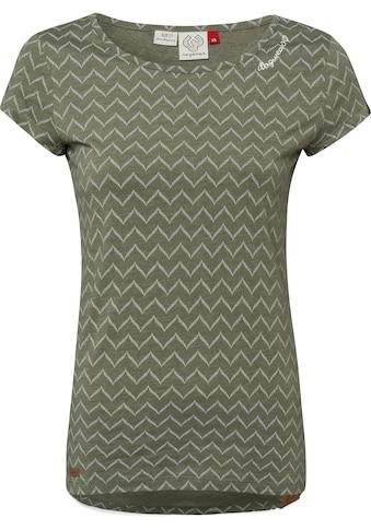 Ragwear Shirttop »MINT ZIG ZAG«, mit schönem Zig Zag Allover-Druck kaufen