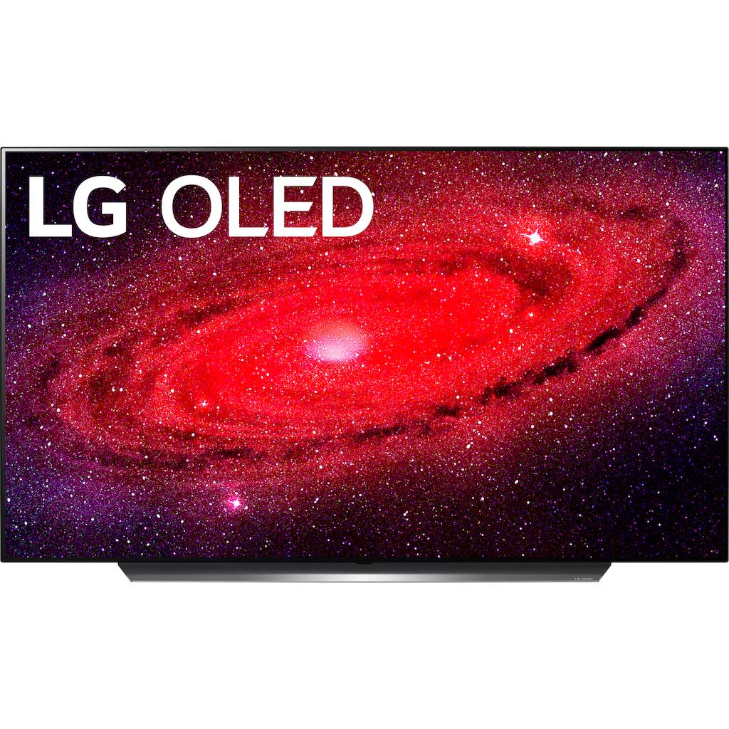 "LG OLED-Fernseher »OLED55CX9LA«, 139 cm/55 "", 4K Ultra HD, Smart-TV, LG TONE FN4 Kopfhörer geschenkt bekommen - nur bis 31.03.2021"