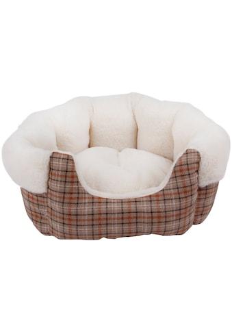 HEIM Hundebett und Katzenbett »Classic«, beige, BxT: 62x72 cm kaufen