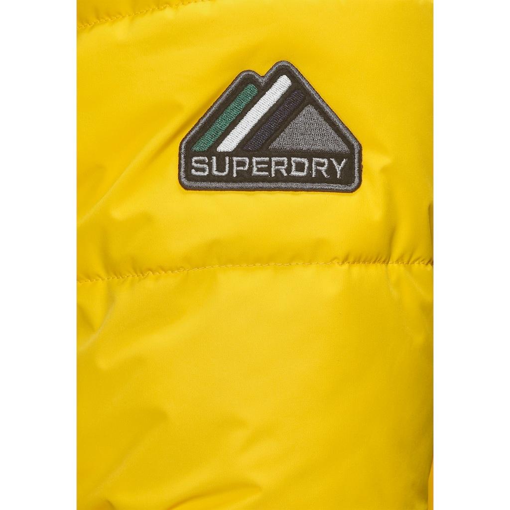 Superdry Steppjacke »SPORTS PUFFER«