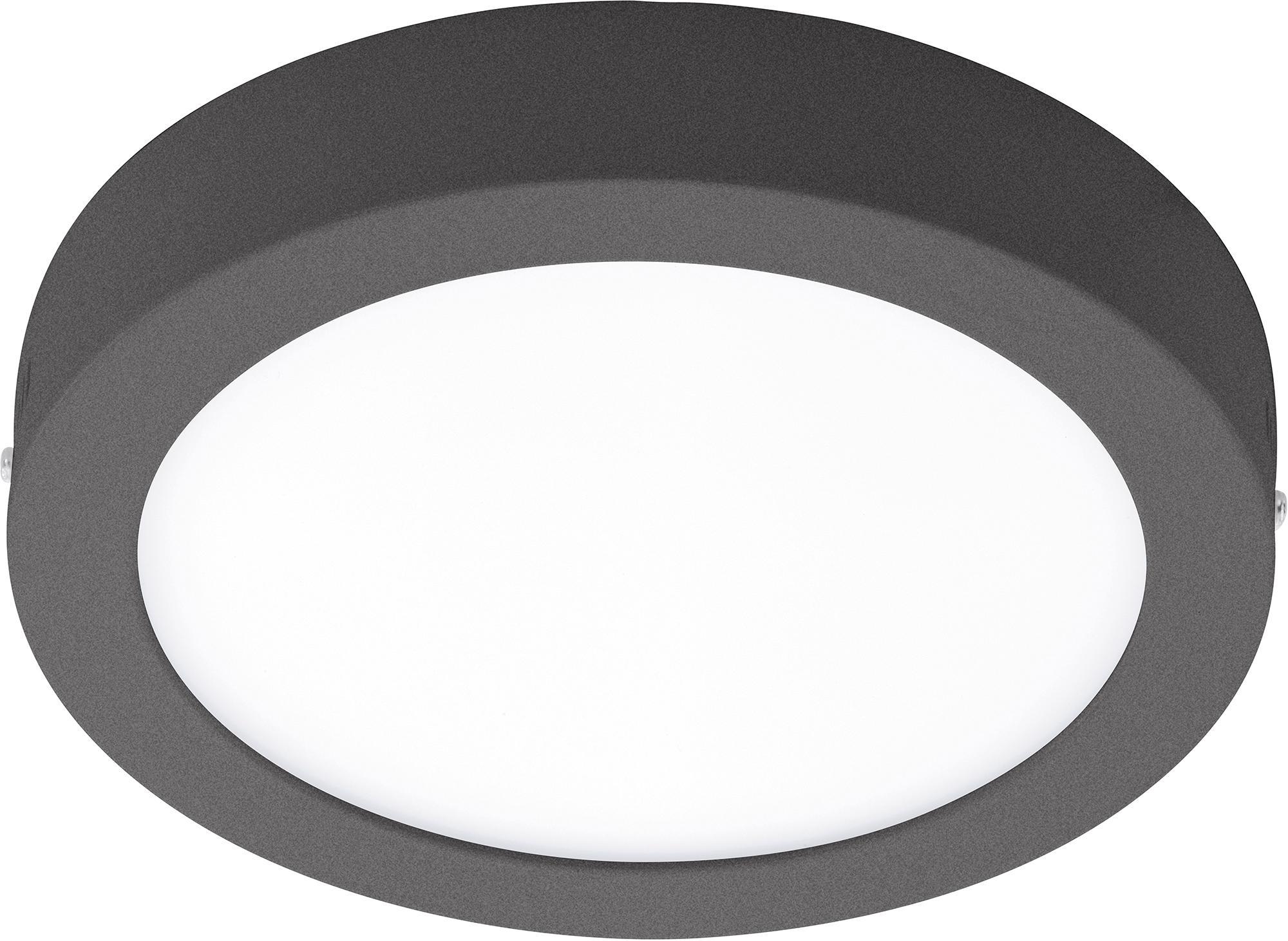 EGLO LED Außen-Deckenleuchte ARGOLIS, LED-Board, Warmweiß, rund