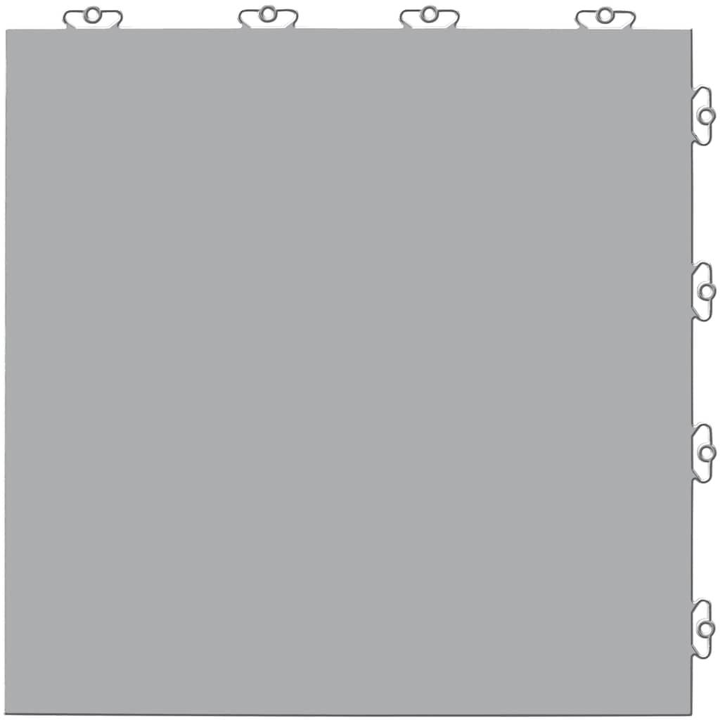 Bergo Flooring Terrassenplatten »Elite grau«, Klickfliesen 5 m²
