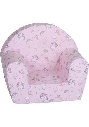 Knorrtoys® Sessel »Rainbow Unicorn«, für Kinder; Made in Europe kaufen