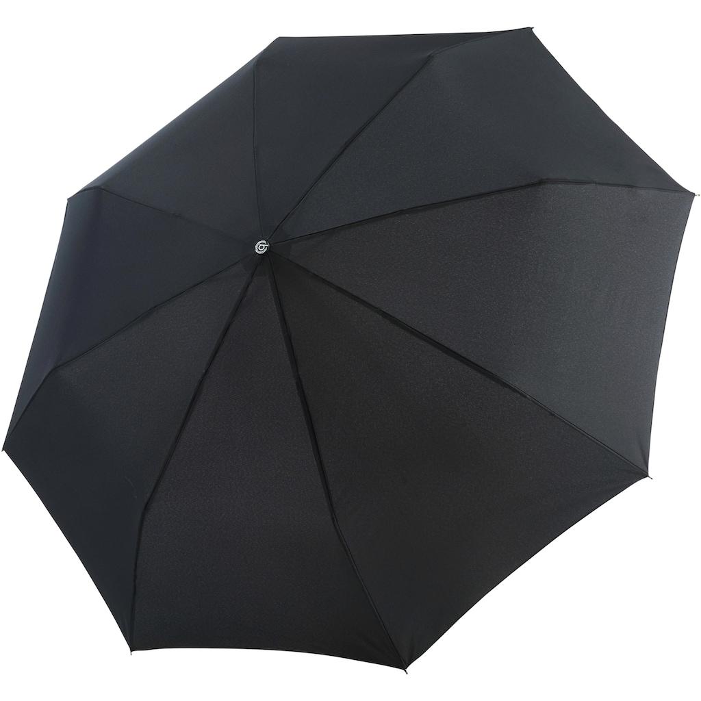 Taschenregenschirm »Gran Turismo, schwarz«