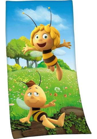 Die Biene Maja Badetuch »Biene Maja«, (1 St.), mit Biene Maja Motiv kaufen