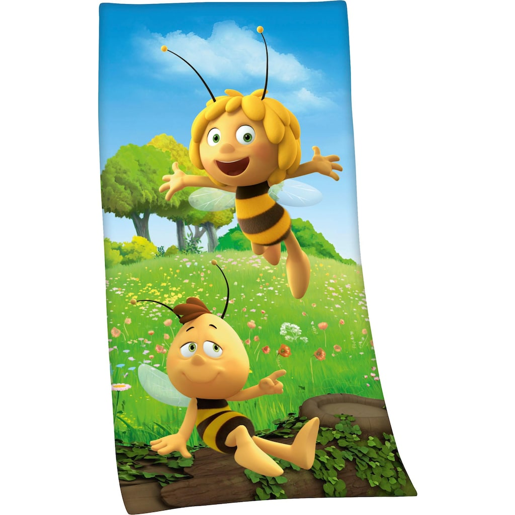 Die Biene Maja Badetuch »Biene Maja«, (1 St.), mit Biene Maja Motiv
