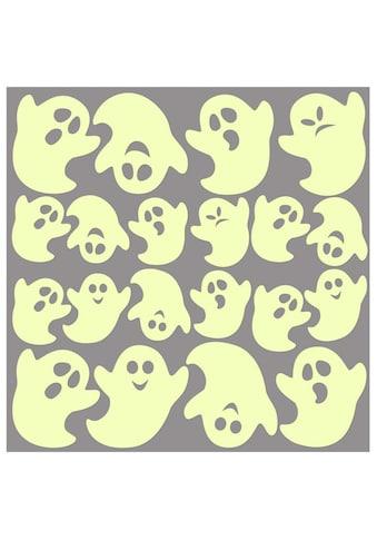 Wall - Art Wandtattoo »Leuchtsticker Geister« (1 Stück) kaufen
