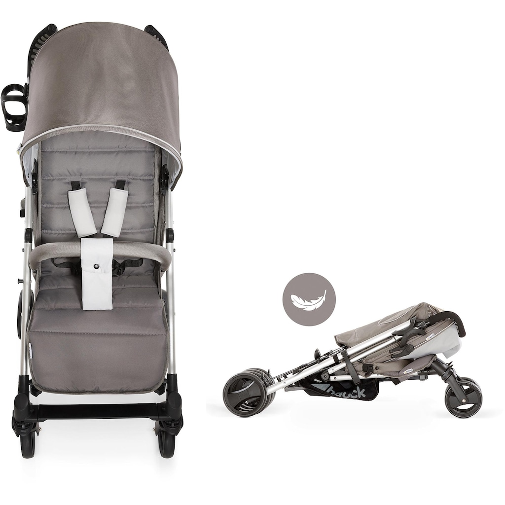 Hauck Kinder-Buggy »Vegas, Charcoal«, 25 kg, mit Getränkehalter; Kinderwagen, Buggy, Sportwagen, Sportbuggy, Kinderbuggy, Sport-Kinderwagen