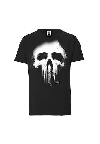 LOGOSHIRT Rundhalsshirt, mit coolem Punisher-Druck kaufen