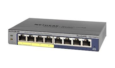 NETGEAR Gigabit Smart Managed Plus Switches »8 - Port GS108PE« kaufen
