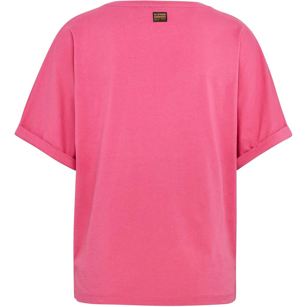 G-Star RAW T-Shirt »Joosa V- Neck T-Shirt«, mit tiefen V-Ausschnitt