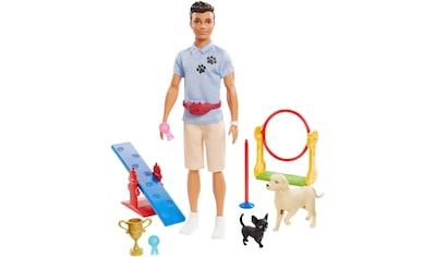"""Mattel® Anziehpuppe """"Barbie Ken, Hundetrainer, brünett, mit zwei Hunden"""" kaufen"""