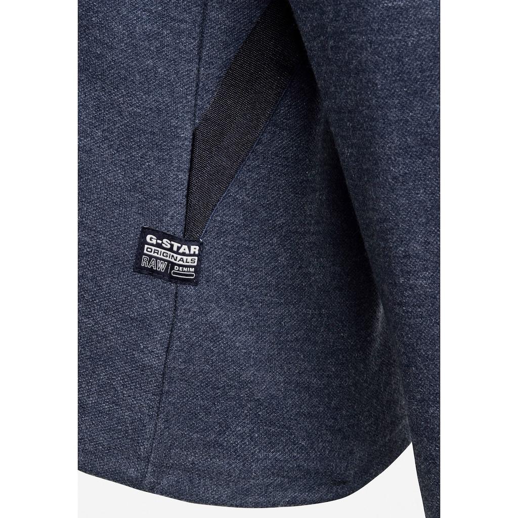 G-Star RAW Sweatshirt »Hooded Tweater«, mit gefütterter Kapuze und überkreuzter Vorderseite