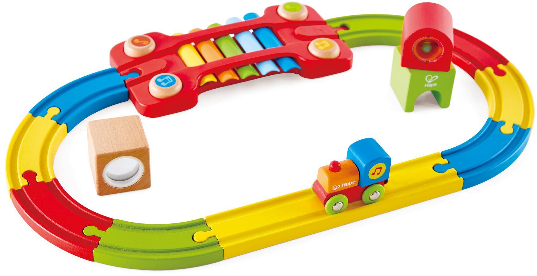 """Hape Spielzeug-Eisenbahn """"Eisenbahn der Sinne-Set"""" (Set) Technik & Freizeit/Spielzeug/Autos, Eisenbahn & Modellbau/Kindereisenbahnen"""