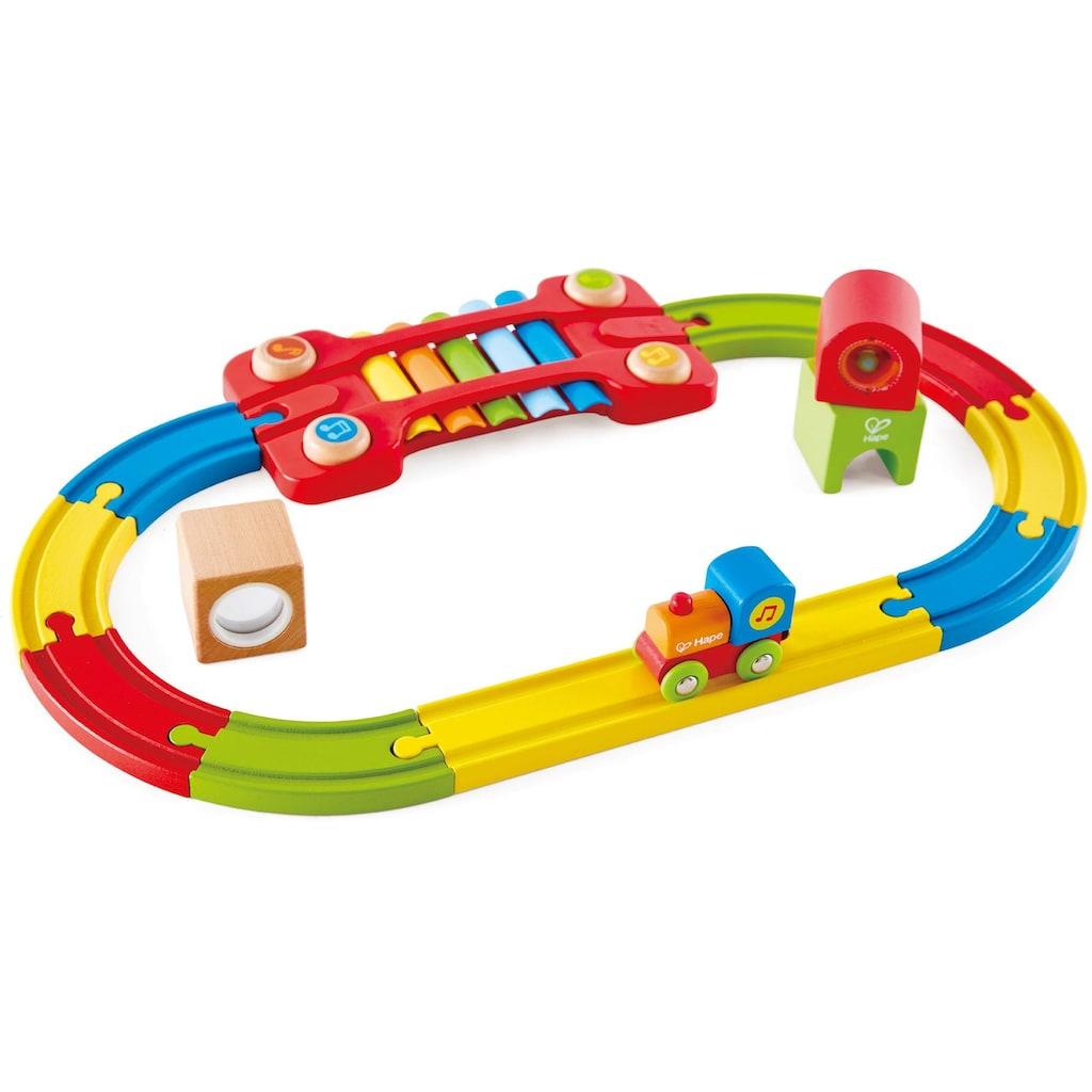 Hape Spielzeug-Eisenbahn »Eisenbahn der Sinne-Set«, aus Holz