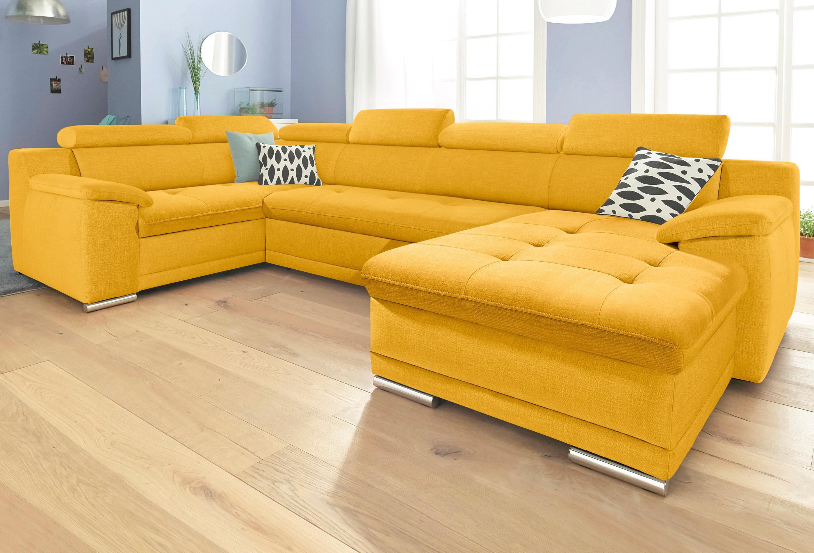 sit&more Wohnlandschaft   Wohnzimmer > Sofas & Couches > Wohnlandschaften   Gelb   Sit&More