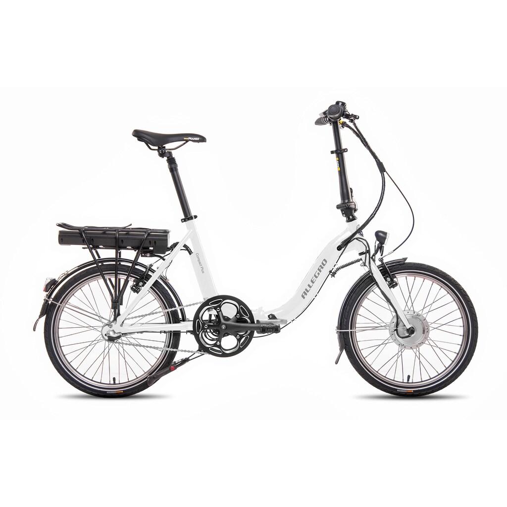 ALLEGRO E-Bike »Compact Plus White«