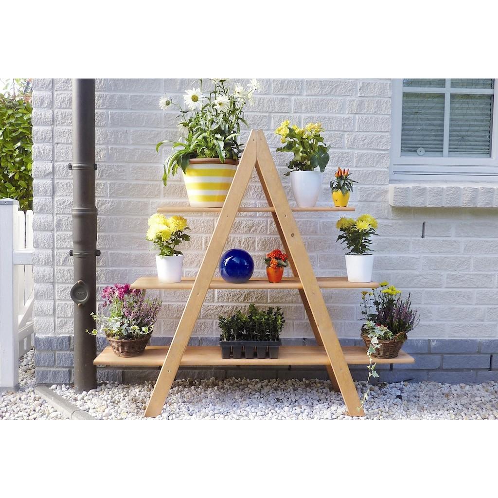 promadino Blumenständer »Blummentreppe MAXI«, BxTxH: 120x31x137 cm