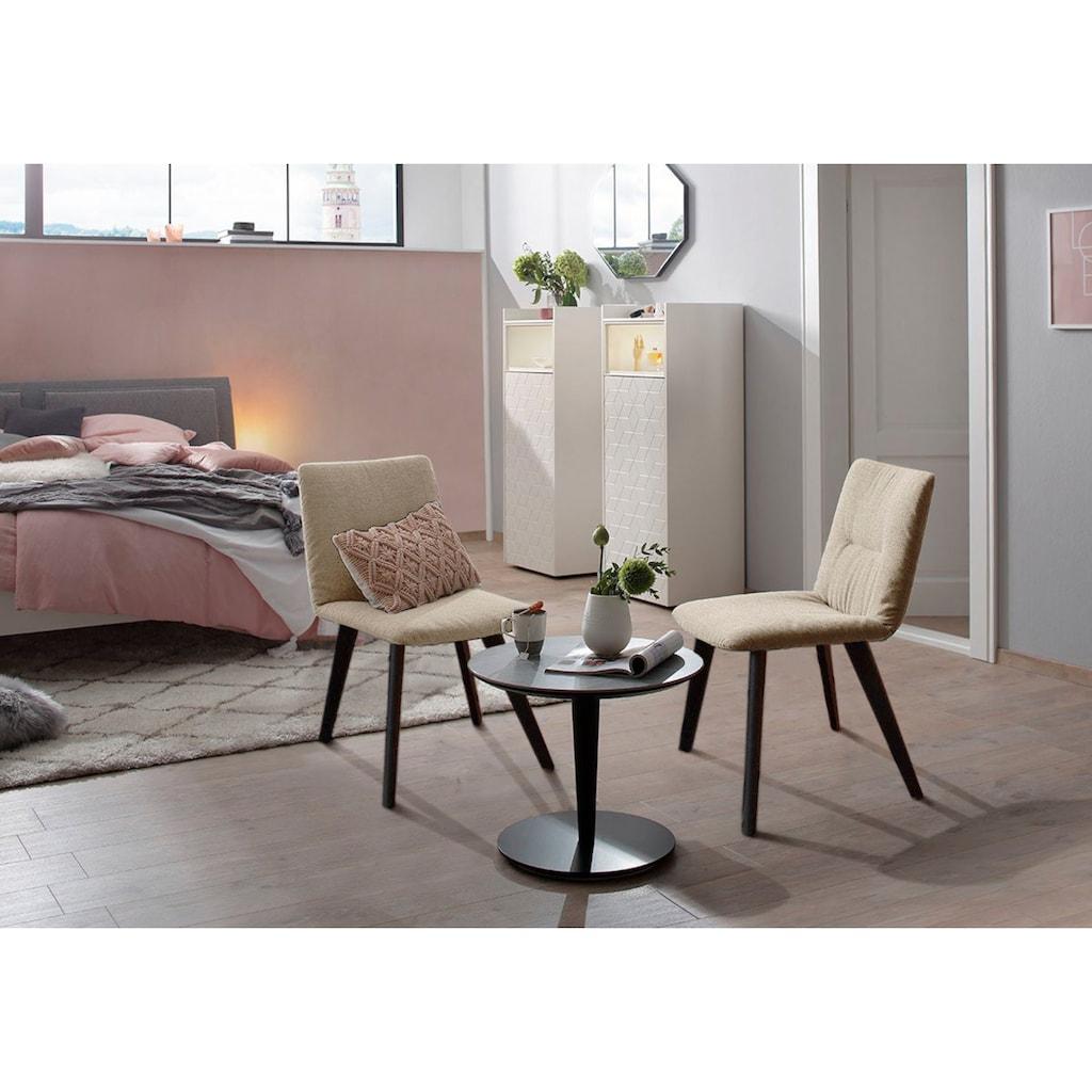 Villeroy & Boch Polsterstuhl »COSMO«, mit Holzfuß