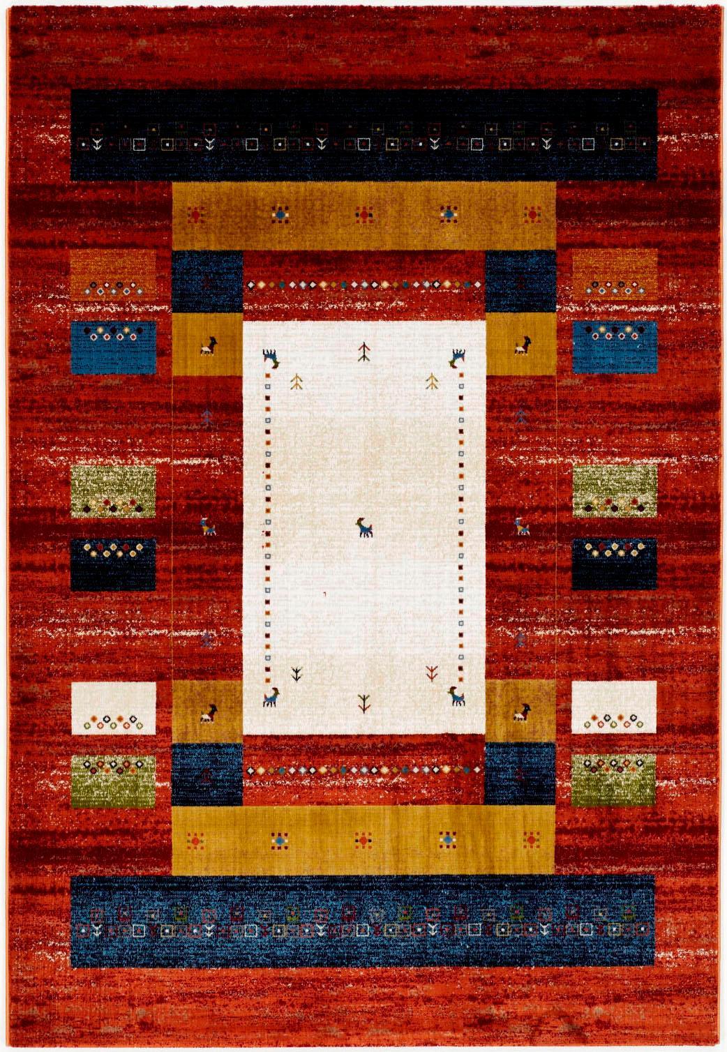 Teppich Megaglance Makah OCI DIE TEPPICHMARKE rechteckig Höhe 8 mm maschinell gewebt