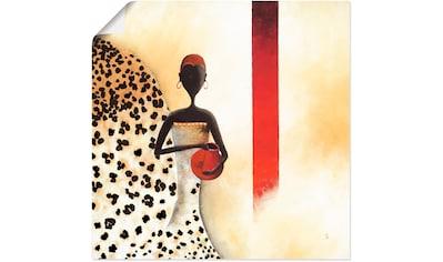 Artland Wandbild »Afrikanische Frau I« kaufen