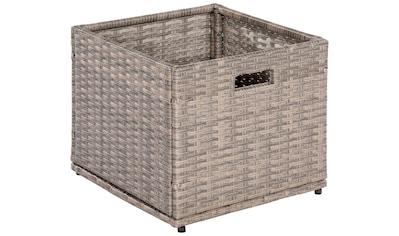 MERXX Kissenbox »Unterschiebbox klein«, Stahl/Kunststoff kaufen