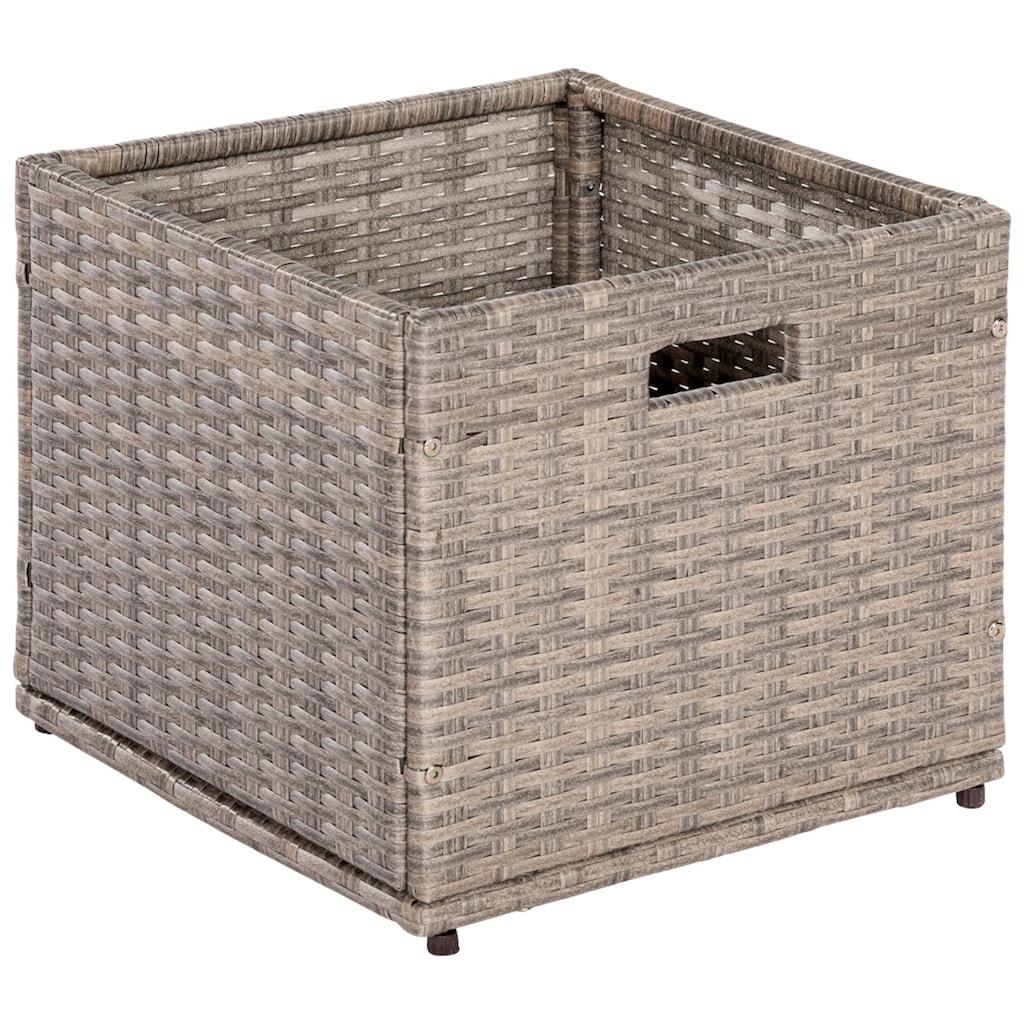 MERXX Kissenbox »Unterschiebbox klein«, Stahl/Kunststoff