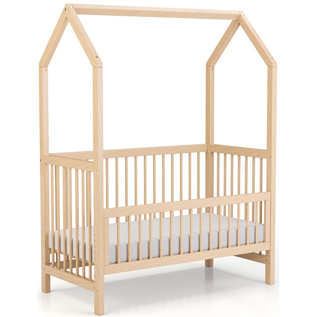 Geuther Babybett »Cozy-Do«, 4-in-1 Bett; Made in Germany; Beistellbett, Kinderbett, Juniorbett und Spielhaus in Einem!
