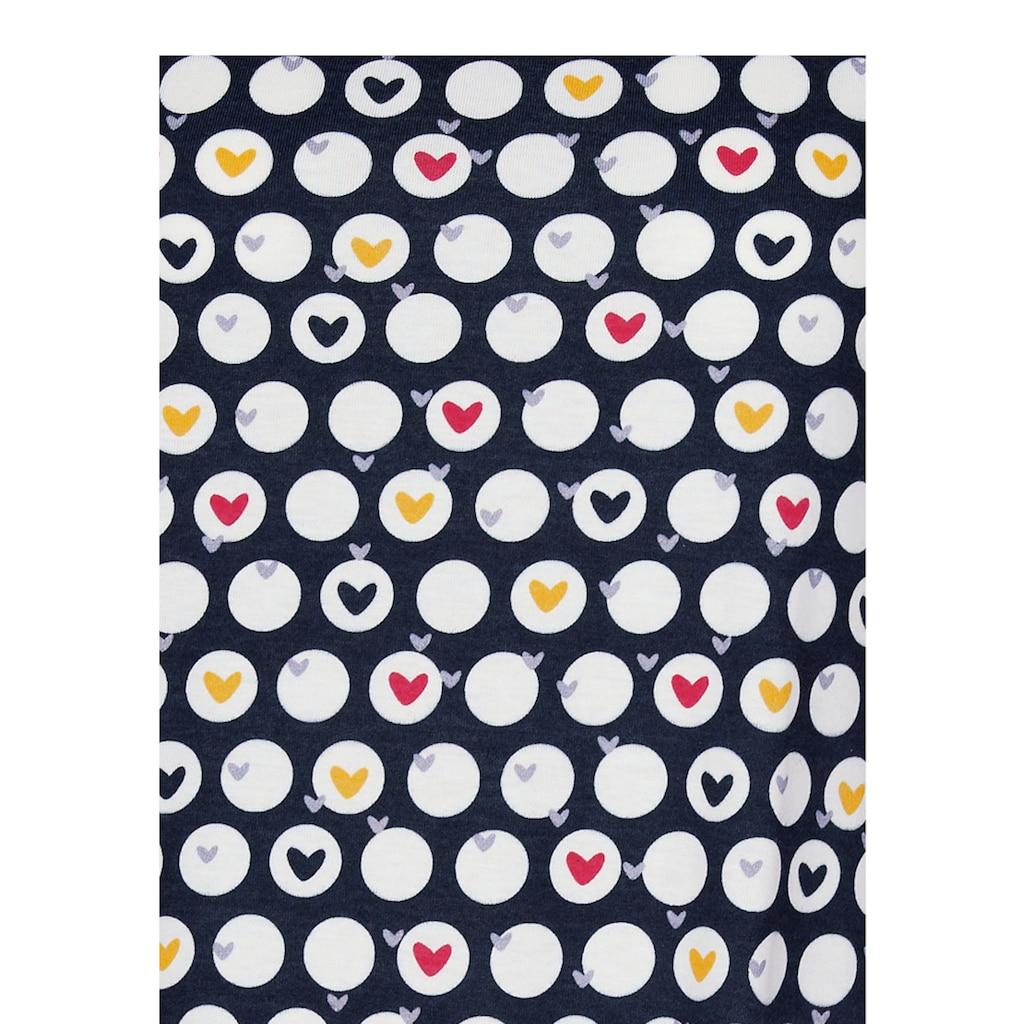 Trigema Nachthemd, mit Herzchen-Motiv