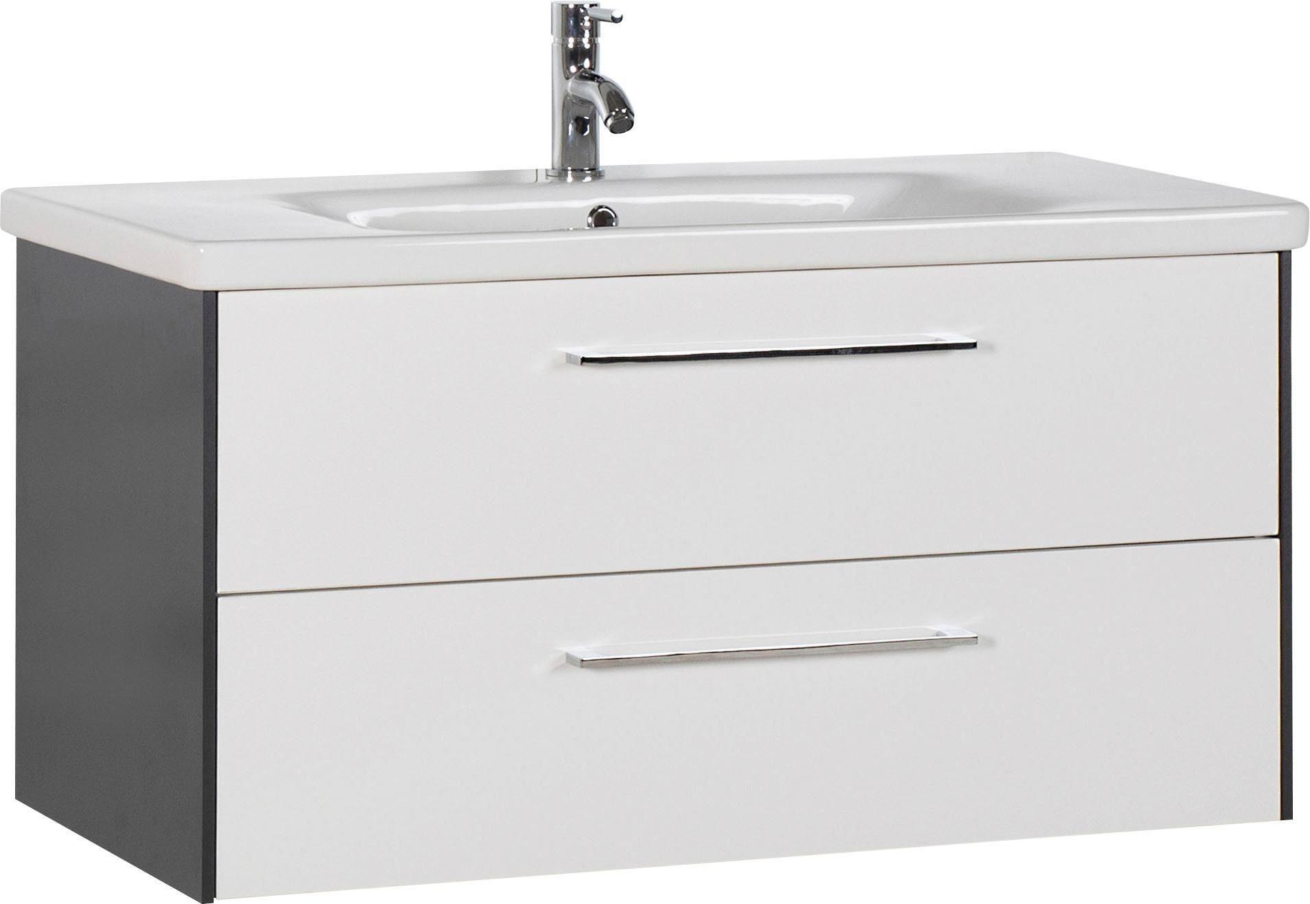 MARLIN Waschtisch, 3400 weiß Waschtische Badmöbel