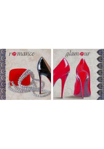 my home Kunstdruck »MICHELLE CLAIR / Romance, Glamour«, (Set, 2 St.) kaufen