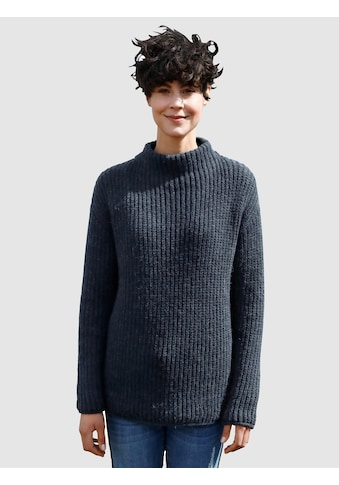 Dress In Strickpullover, mit Stehkragen kaufen